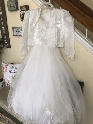 First communion / baptism / dress for Sale in Moreno Valley, CA