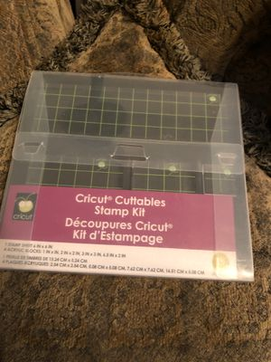 Cricut cuttables stamp kit for Sale in Mesa, AZ