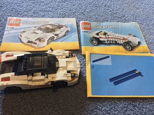 LEGO 3 in 1 Car Set for Sale in Stockton, MD