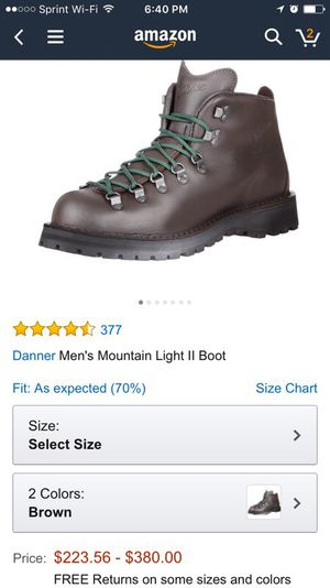 Danner Hiking boots for Sale in Alexandria, VA