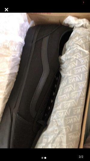 Vans black 14 shoes for Sale in Ventura, CA