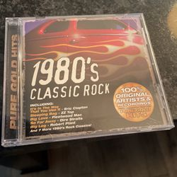 1980's Classic Rock CD for Sale in Portland,  OR