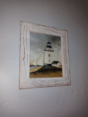 Light house picture frame for Sale in Fort Lauderdale, FL