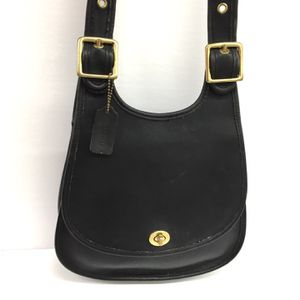 Coach Black Leather Hobo Crossbody Bag for Sale in Houston, TX