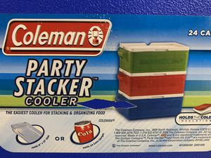 New 2 pieces of Coleman 24 can Party Stacker Cooler for Sale in South Miami, FL