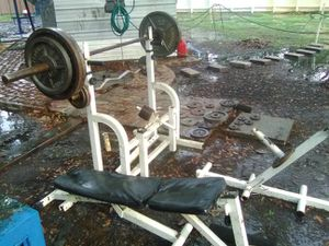 Olympic weight set for Sale in Geismar, LA