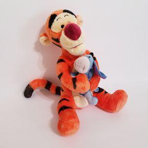 Disney Tigger Hugging Eeyore Plush Stuffed Animal for Sale in Brookfield, IL