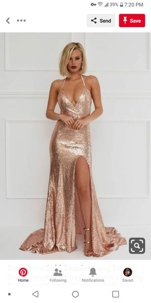 Blush sequin prom dress for Sale in Oakland, CA
