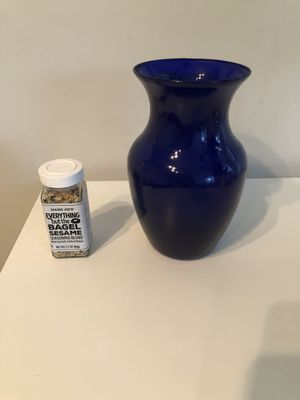 Indigo Glass Vase for Sale in Washington, DC