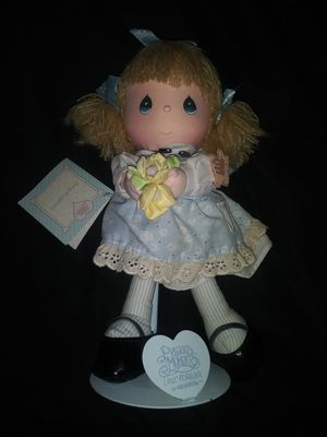 Precious Moments doll w/stand for Sale in Hudson, FL