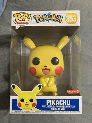 Funko Pop 10 Inch Pikachu Target Exclusive Pokemon for Sale in Carson, CA
