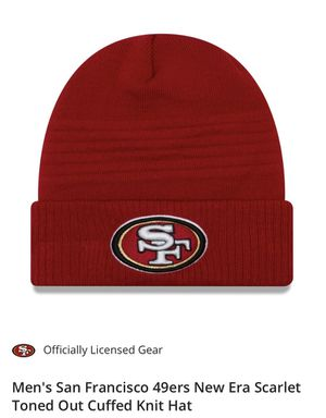 San Francisco 49ers Knit Hat Red for Sale in West Hollywood, CA