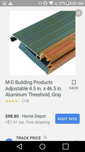 New oak and aluminium threshold for Sale in Sebring, FL