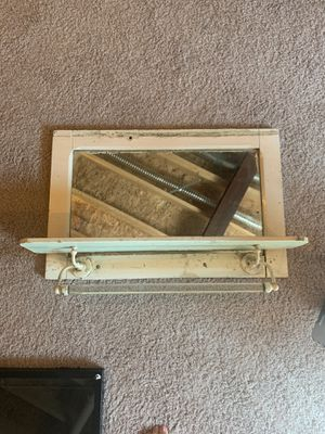 Antique shelf and mirror for Sale in Mars, PA