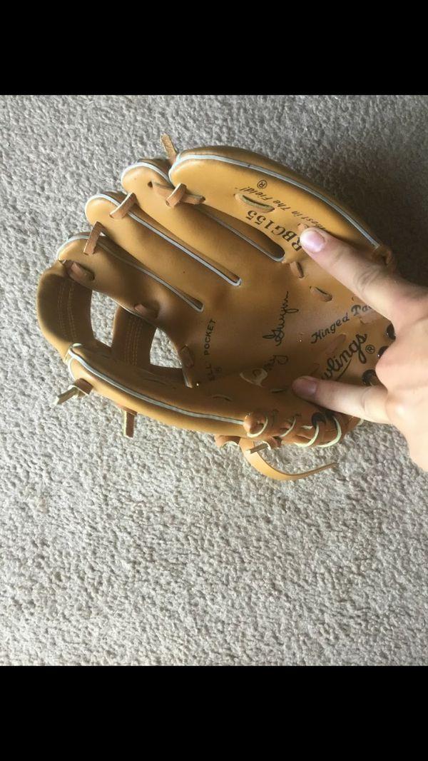 Two baseball gloves