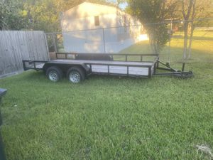 16ft utility trailer for Sale in Houston, TX