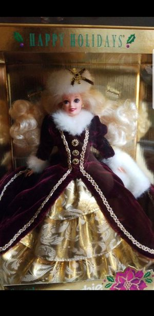 RARE special edition collectors holiday barbie for Sale in Franklinton, NC