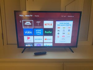 32' TCL ROKU TV for Sale in Tampa, FL