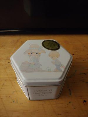 Tin box precious moments for Sale in Henderson, NV