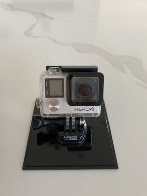 Gopro hero4 silver + accessories for Sale in Camas, WA