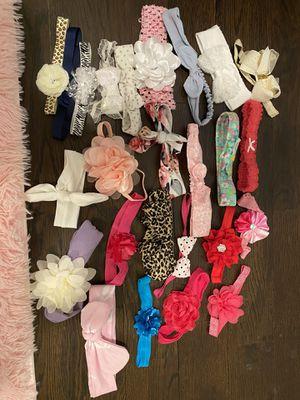 Baby girl headbands for Sale in Coopersburg, PA