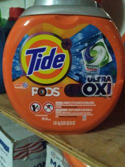 Tide Pods 4in1 Ultra Oxi 61 Packs for Sale in Las Vegas,  NV