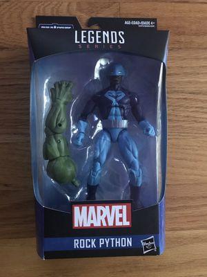 Marvel Legends Rock Python for Sale in Chicago, IL