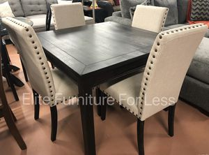 5Pc Antique Black Table Set for Sale in Chula Vista, CA