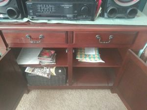 Cherrywood entertainment center piece for Sale in Hayward, CA
