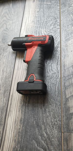 "Snap-On 14.4 v 3/8"" Drive MicroLithium Cordless impact wrench tool with battery for Sale in Claremont, CA"