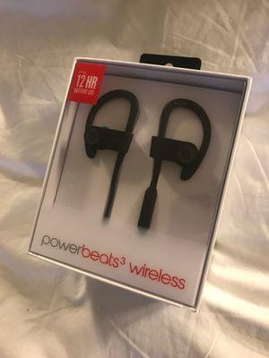Powerbeats 3 wireless earphones New in box for Sale in Bellevue, WA
