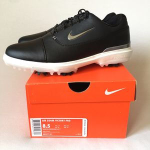 Nike Air Zoom Victory Pro Golf Shoes Black New Size 8.5 for Sale in Las Vegas, NV
