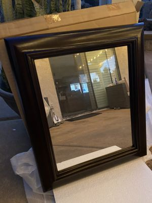 Brand new mirror - wooden frame 24x28 for Sale in Chino Hills, CA