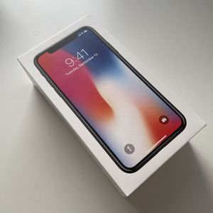 Apple iPhone X Box Only for Sale in Irvine, CA