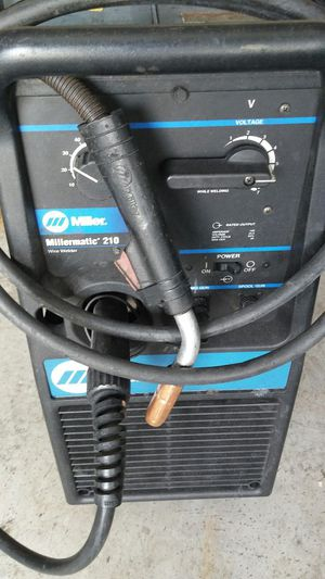 Millermatic 210 mig welder for Sale in Orlando, FL