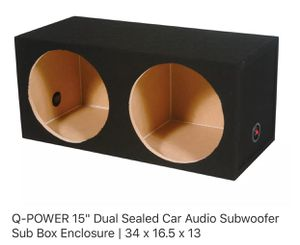 Subwoofer box enclosure for Sale in Brentwood, MD