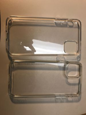 Apple spigen iPhone pro max clear case for Sale in Irvine, CA
