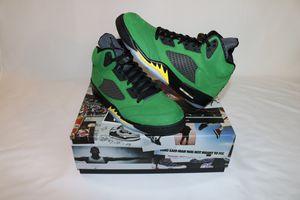 Air Jordan 5 Retro SE Apple Green Oregon Size 9.5 for Sale in Cincinnati, OH