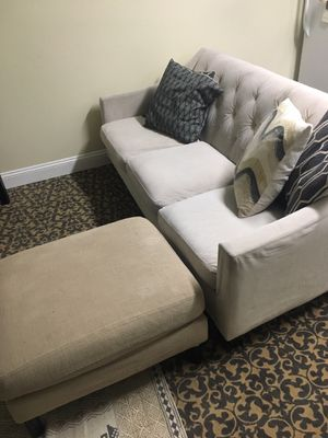 Couch and ottoman for Sale in Washington, DC