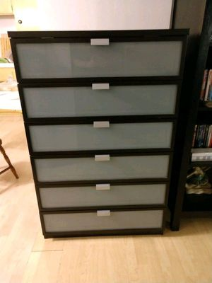 IKEA HOPEN DRESSER TALL 6-DRAWER for Sale in Rockville, MD