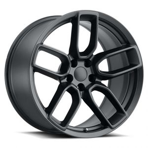 "20"" Staggered Wheels fit Dodge Challenger Charger OE Replica Satin Black Rims for Sale in Orange, CA"