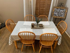 Dining Room Table + 6 Chairs for Sale in Phoenix, AZ