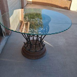 Glass Breakfast Table for Sale in Las Vegas, NV