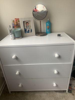 White dresser for Sale in Alexandria, VA