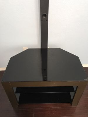 TV stand with mount for Sale in Grand Prairie, TX