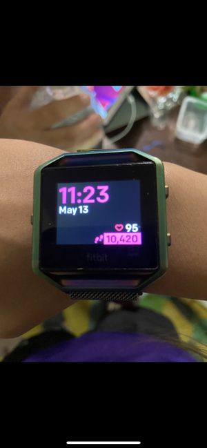 Fitbit blaze for Sale in Polk City, FL
