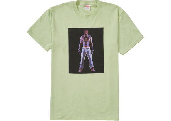 Tupac Hologram Supreme XL pale mint