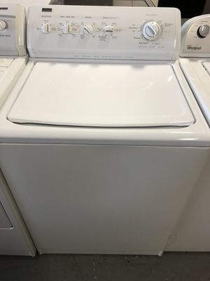 Kenmore top load washer and dryer electric set with warranty for Sale in Woodbridge, VA