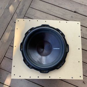 Rockford Fosgate P3 12 inch subwoofer for Sale in Tulare, CA