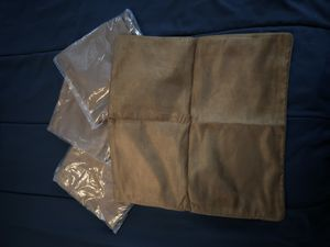 Suede 18x18 pillow case for Sale in Fort Hunt, VA